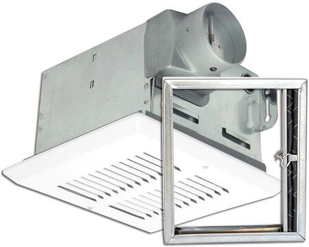 FRAS50 Fire Rated Fan with 50 CFM  and 24 Gauge Galvanized Steel Housing  in