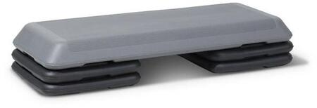 XM-2703 Aerobic Stepper Set with 4 Risers and Non-Slip Plastic Surface in