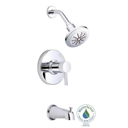D511030t Amalfi 1-handle Pressure Balance Tub And Shower Trim Only Faucet In