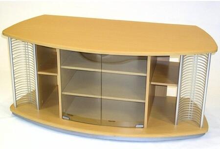 242605 Home Entertainment Stand Beech/metal