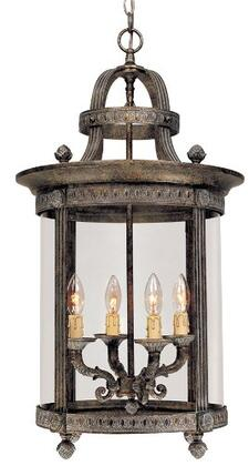 160463 Traditional / Classic Exterior Pendant Old World Brass