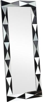 Hare Collection 97107 26 inch  x 67 inch  Accent Mirror  Silver &