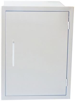 BA-DSV1724 Signature Series 17 inch  x 24 inch  Belved Frame Weather Sealed Dry Storage Pantry in Stainless