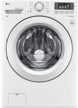 "WM3180CW 27"""" Front Load Washer with 4.5 cu. ft. Capacity  9 Wash Programs  Stainless Steel Drum and NFC Tag On  in"" 801155"