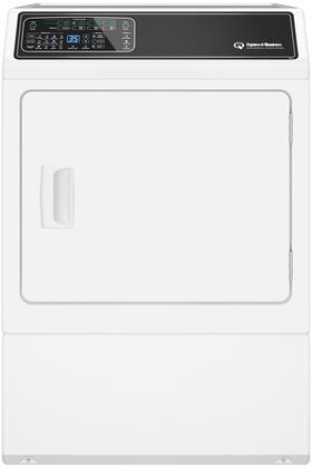 """DF7000WE 27"""" Electric Dryer with 7 cu. ft. Capacity  7 Preset Cycles  4 Automatic Dry Cycles  4 Temperature Settings  Moisture Sensor and Eco Cycle  in"""