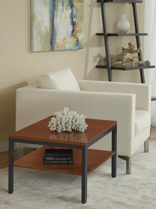 P2424S-CH Cherry Square Corner End Table with