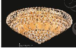 Corona Collection SP81076F-25G 25 inch  Wide Chandelier in Gold