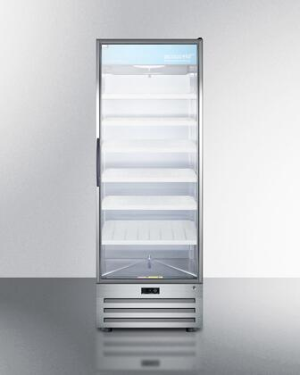 """ACR1717RH 28"""" AccuCold Commercially Approved Refrigerator for Pharmaceutical Storage with 17 cu. ft. Capacity  Adjustable Cantilevered Shelves  Digital"""