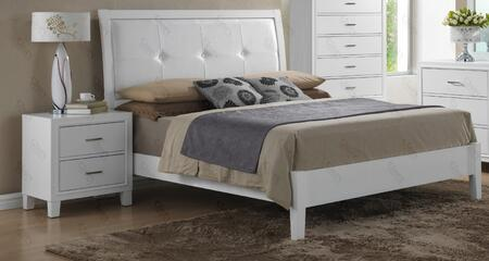 G1275afbn 2 Piece Set Including Full Size Bed And Nightstand In