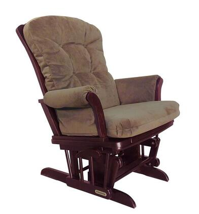 37427kd.47.0185 Shermag Sleigh Style Reclining Glider  with Locking