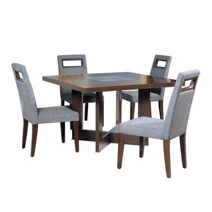 31104-04 72x22x36 Bridget Dining Table in Dark Wenge