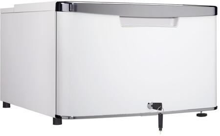 DPD21A1PDB 21 inch  Compact Cubby  Iridium Silver Door with Rubber Grip Chrome Ergonomic Door Handle  Drawer Lock  in