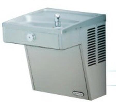 LZS8WSVRS EZH2O Cooler Kit with Solid Brass  ADA Compliant Lever Handles  and Pop-Up Drain with Tail
