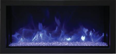 Remii 102755-XS 55 Extra Slim Indoor or Outdoor Electric Fireplace