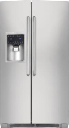 Electrolux 22.7 Cu. Ft. Counter-Depth Side-by-Side Refrigerator Stainless Steel EI23CS35KS