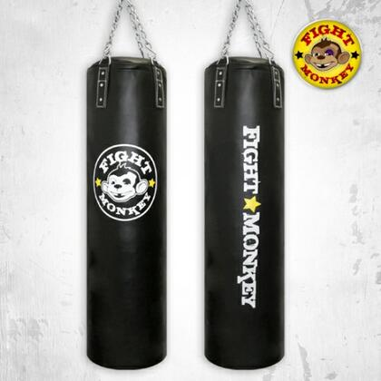 FM-602LMT-75 Commercial Heavy 75 lbs. Punching Bag with Hydraulic Filled Fibres  Bottom Hook  Heavy Duty Chain  Commercial Canvas Lighting and PVC Exterior  in