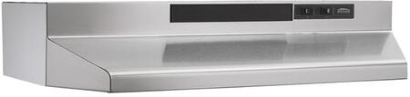 """""Broan Nu-Tone F403004 4-Way Range Hood 120 Volt, 2.5 Amp, Under Cabinet, Wall Mount,"""""" 50082"