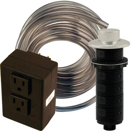 ASB-2-RB-07 Food Waste Disposal Raised Button Dual Outlet Air Switch and