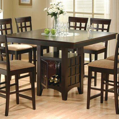 100438SET09 Mix and Match 5 Piece Counter Height Dining Set (Table and 4