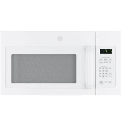 GE JNM3163DJWW 1.6 Cu. Ft. White Over-the-Range Microwave
