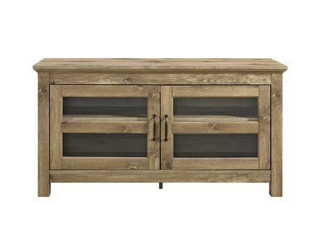 WQ44CFDBW 44 inch  Wood TV Media Stand Storage Console in