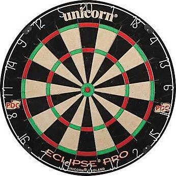 D1179403 Eclipse Pro Premium Dartboard with Ultra Slim Segmentation System and Increased Target
