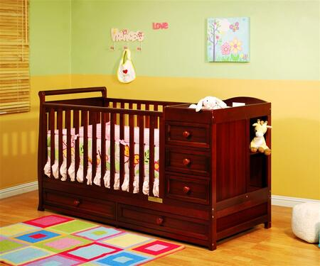 662C Athena Daphne 2-in-1 Crib and Changer Combo in