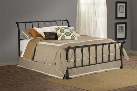1654BFR Janis Bed Set - Full - w/Rails  Textured