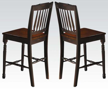 07907 Carriage House Arrow Back Counter Height Chairs (Set of