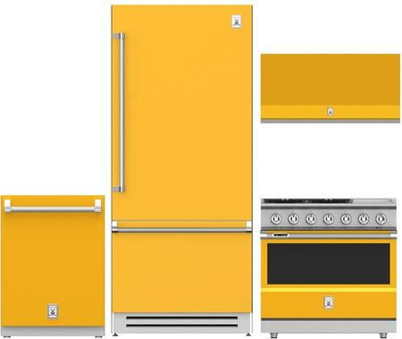 4-Piece Kitchen Package with 36