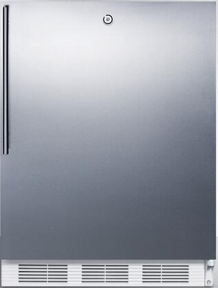 FF6LSSHVADA 32 inch  ADA Compliant Medical Freestanding Compact Refrigerator with 5.5 cu. ft. Capacity  Door Lock  Crisper  Interior Lighting and Automatic Defrost:
