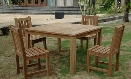 SET-101A 5-Piece Dining Set with 47