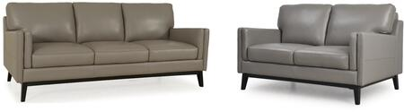 Osman Collection 35203MS1309SL 2-Piece Living Room Set with Sofa and Loveseat in