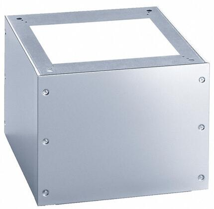"""UG500547SS 19"""" Tall Closed Base for Washer or Dryer  in Stainless"""