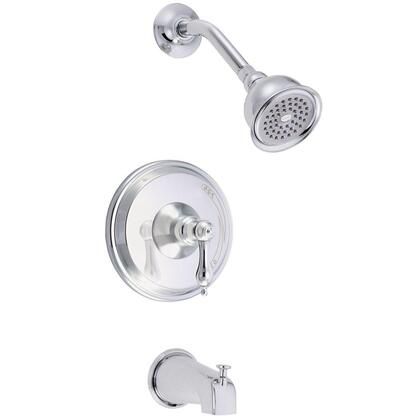 D510040T Fairmont Single Handle Tub and Shower Faucet Trim Only in Chrome (Valve not