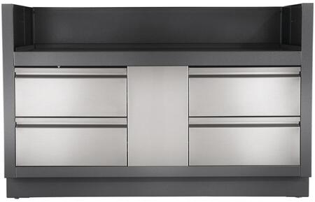 IM-UGC825-CN Oasis Modular Island Under Grill Cabinet for Built-In Grill Prestige PRO 825  in