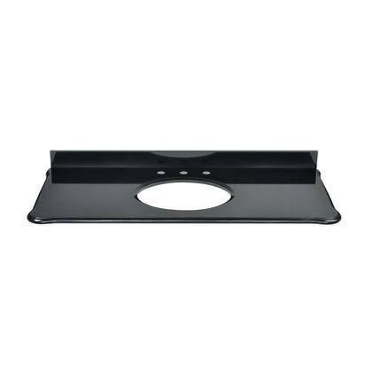 S-MALAGO-48BK_Custom-cut_Malago_undermount_Vanity_top_in_Black_Granite._Includes