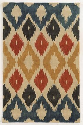 Bbdbd860400040508 Bradberry Downs Bd8604-5 X 8 Hand-tufted 100% Premium Blended Wool Rug In Beige   Rectangle
