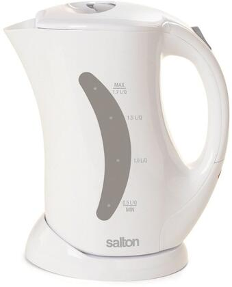 JK1282 1.7 Liter Cordless Electric Jug Kettle with Stainless Steel Heating Element  Hinged Lid and Automatic Safety Shut Off in