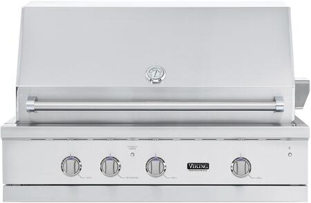 """VGIQ542241NSS Natural Gas 42"""" Built-in Gas Grill with 706 sq. in. Cooking Area 2 Stainless Steel Burners TruSear Infrared Burner Infrared"""