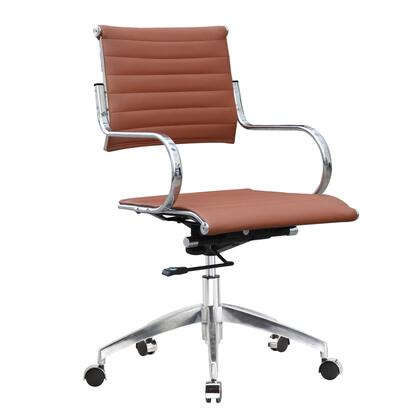 FMI10209-light brown Flees Office Chair Mid Back  Light
