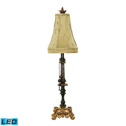 91-365-LED Josephine LED Table Lamp in Black and Gold