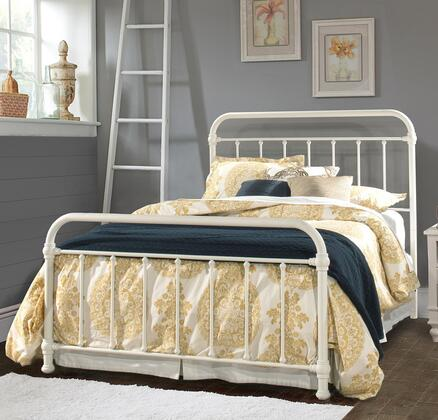 Kirkland Collection 1799BFR Full Size Bed with Headboard  Footboard  Rails  Open-Frame Panel Design and Sturdy Metal Construction in Soft