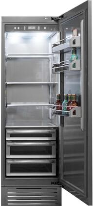 FI30RC-RO 30 inch  Column Series Built In Refrigerator with 17 cu.ft. Capacity  TotalNoFrost  TriPro Refrigerator  LED Lighting  ProVent  Evenlift and OptiView: