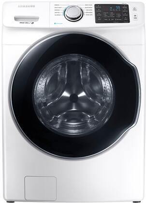"WF45M5500AW 27"" Front-Load Washer With 4.5 cu. ft. Capacity DOE  Steam Wash  VRT Plus Technology  Steam Wash  Self Clean  Smart Care  Child Lock  Delay End  in"