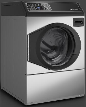 "FF7004SN 27"" Front Load Washer with 3.42 cu. ft. Capacity  9 Cycles  1200 RPM  in Stainless"