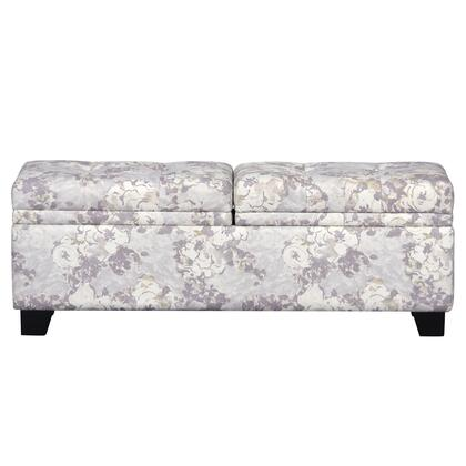 DS2281132494 Storage Upholstered Bed Bench Primrose Dusk In