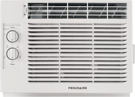 FFRA051ZA1 17 Window Mount Air Conditioner with 5000 BTU Cooling Capacity  2 Fan Speeds  Fixed Chassis and Auto Restart in