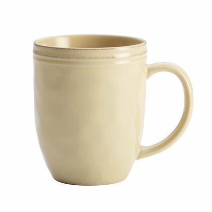 57235 12-Ounce Stoneware Mug  Almond