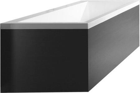 Vero VE890404949 Panel for Corner Right Tub in Graphite Matt